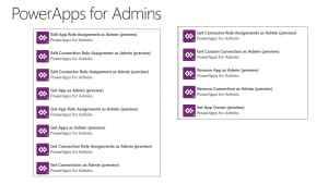 Power Apps Admin Connectors
