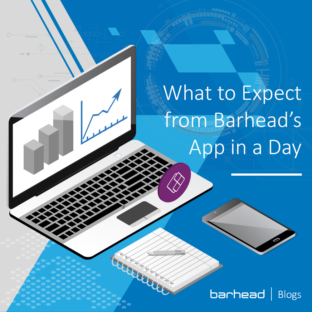 What to expect from Barhead's App in a Day