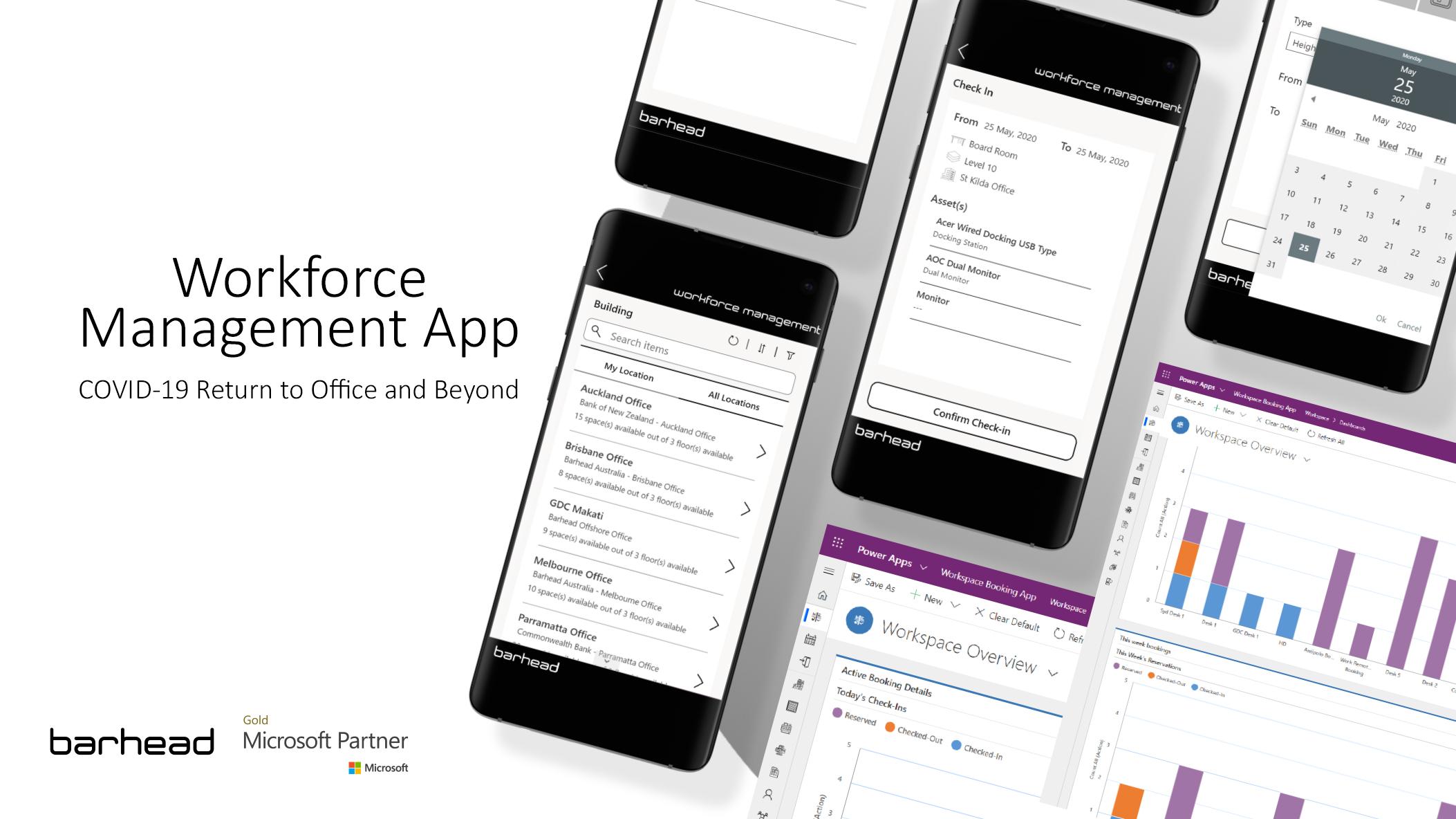 Barhead Workforce Management app