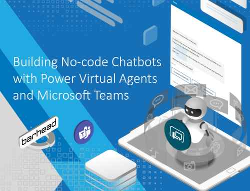 Building No-code Chatbots with Power Virtual Agents and Microsoft Teams