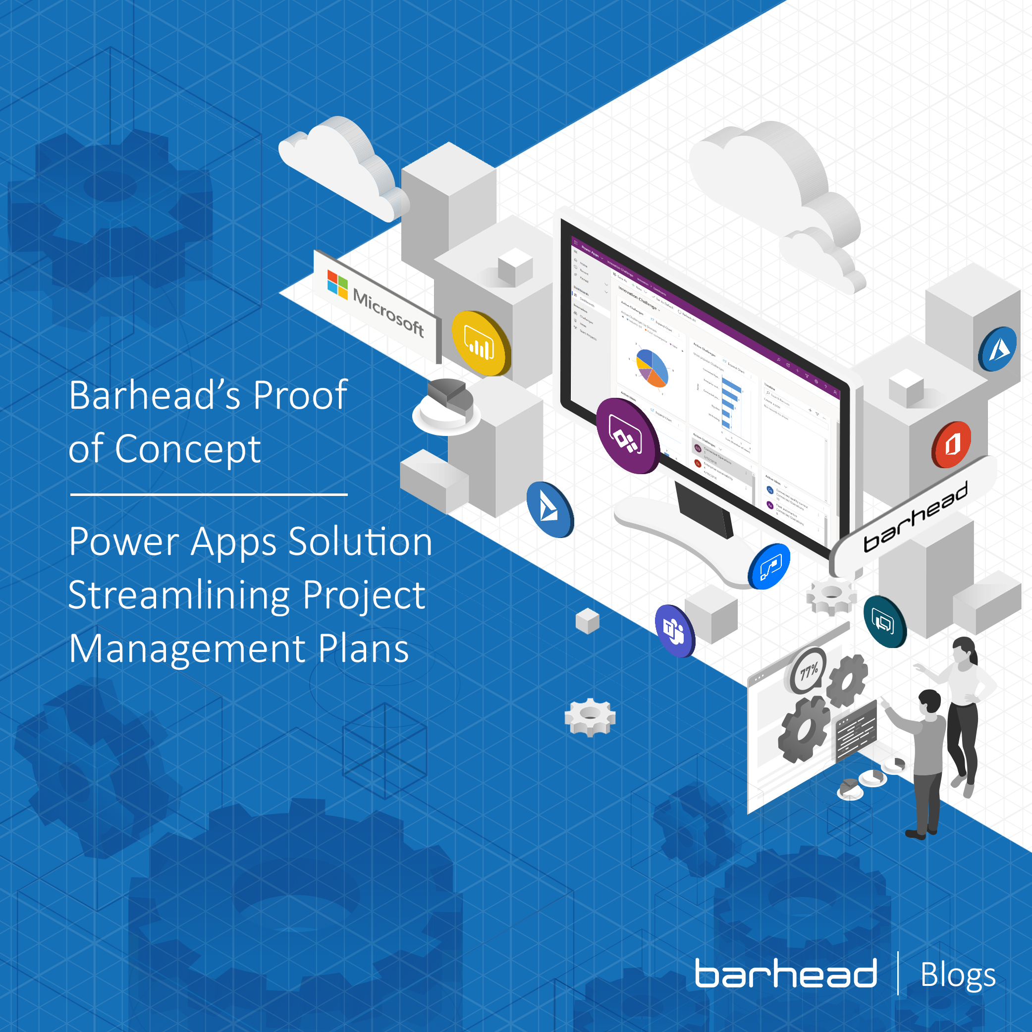 Barhead's Proof of Concept: Power Apps Solution Streamlining Project Management Plans