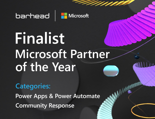 Barhead Solutions receives 2 global recognitions in the 2021 Microsoft Partner of the Year Awards