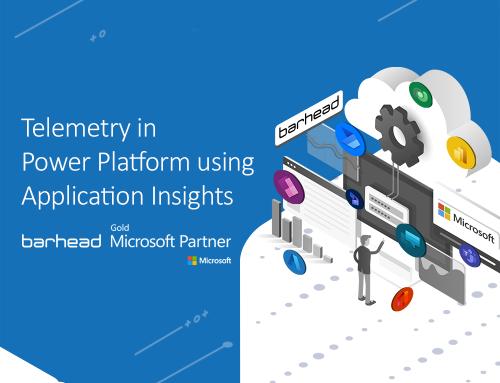 Telemetry in Microsoft Power Platform using Application Insights