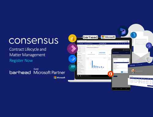 Consensus – Contract Lifecycle and Matter Management | 1 September 2021