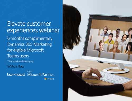 Webinar Recording: Elevate customer experiences